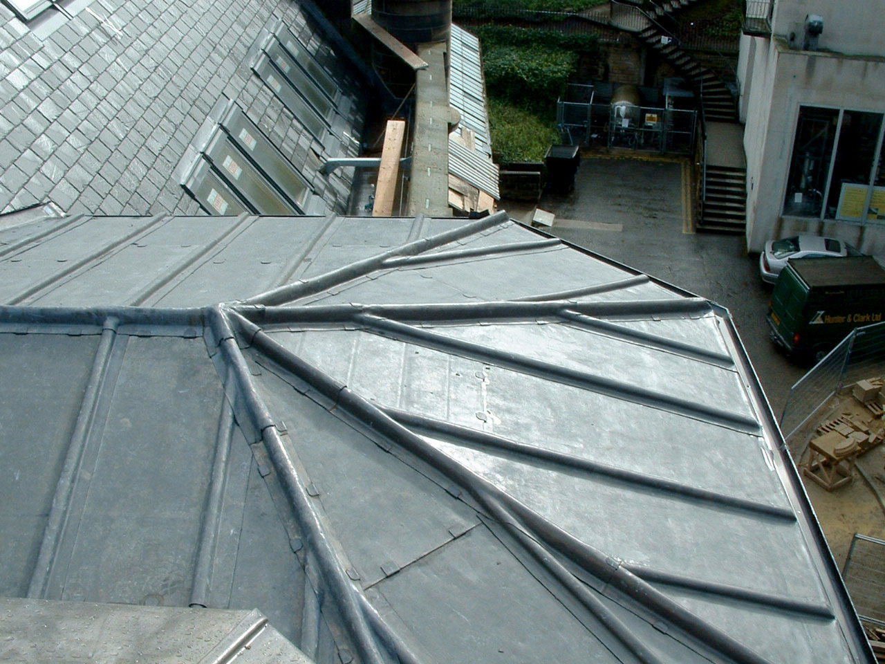 Lead Roofing Materials Amp As You Can See Heu0027s Wearing
